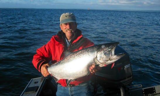 Memorable Fishing Experience In Vashon, Washington On A Bass Boat