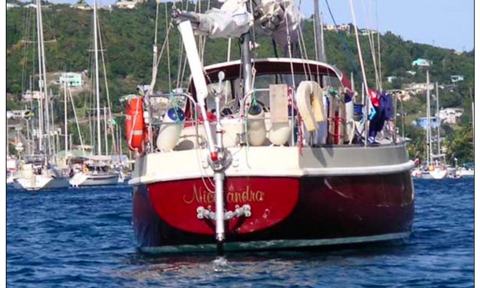 Sail Boat Charter 42' Monohull In Miami