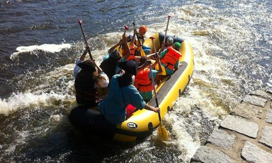 6 Persons Inflatable Rafting Trips In Prague