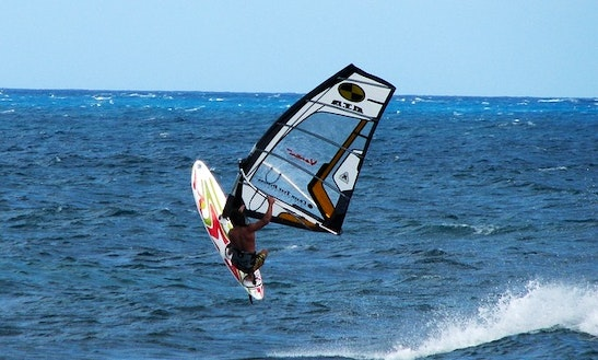 Windsurfing Lessons  In Agios Tychon