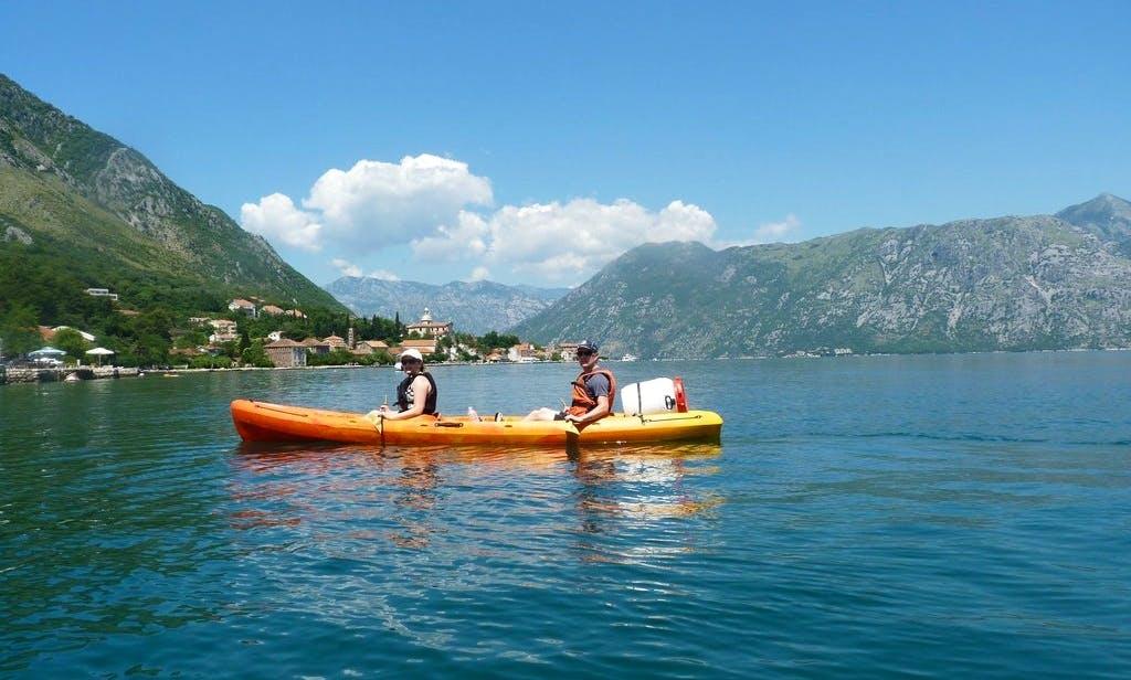 12' Double Kayak Rental & Tours in Kotor, Montenegro