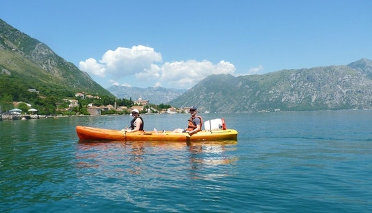 12' Double Kayak Rental & Tours In Kotor, Montenegro