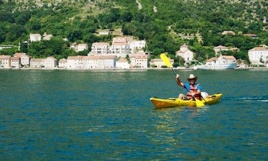 Single Kayak Rental & Tours In Kotor