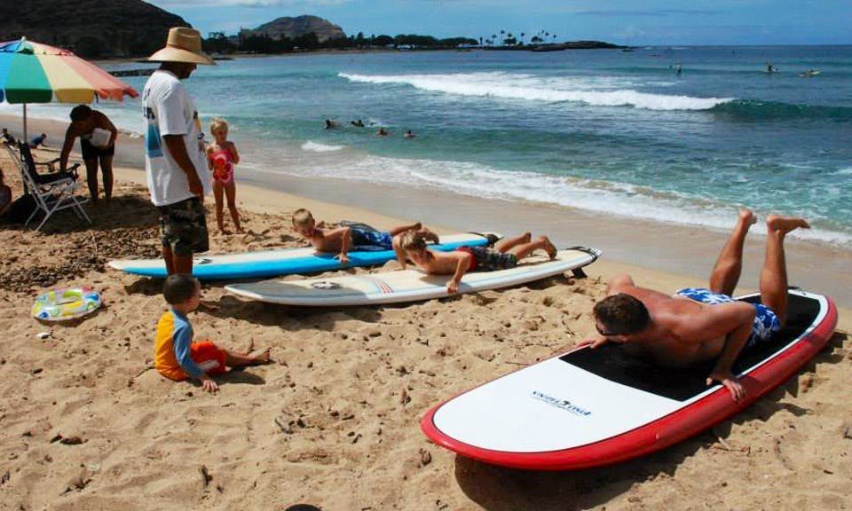 Learn to Surf In Waiʻanae