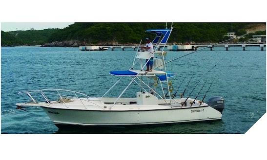 30' Sport Fishing Trip Boat In Oaxaca