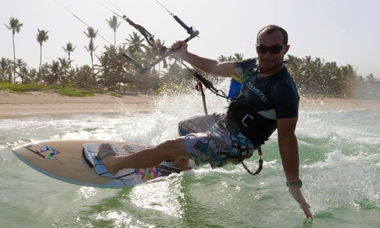 Kiteboarding In Cabarete, Dominican Republic