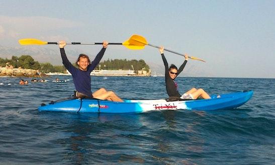 Double Kayak In Split