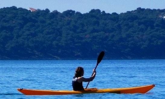 Single Kayak In Split