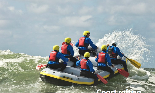 Rafting Trips In Terschelling, Netherlands.