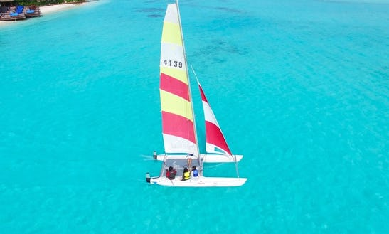 Sailing Lessons In Halaveli, Maldives