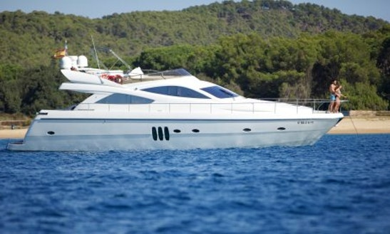 Charter A 61' Abacus Power Mega Yacht In Barcelona, Spain