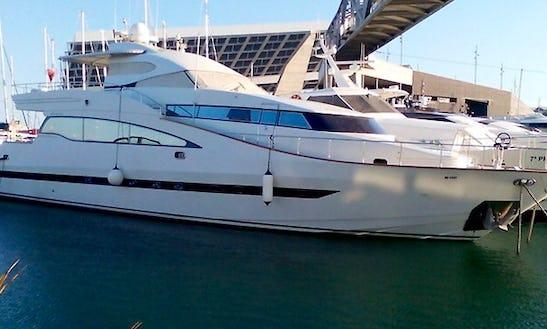 95' Amer Crafs Mega Yacht Charter In Barcelona, Spain