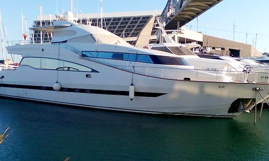Sailing Mega Yacht For Rent In Barcelona