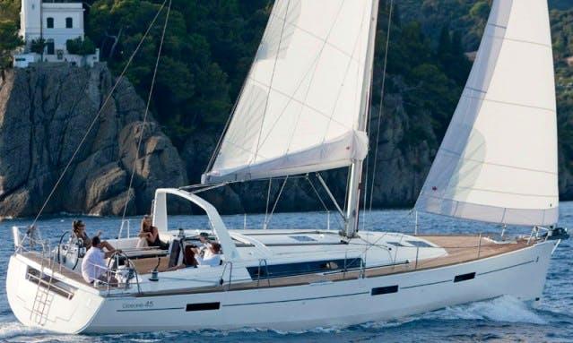 """""""Samba"""" Oceanis 45 Monohull Charter in Podgorica"""