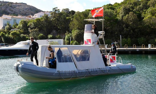'mistral' Boat Diving Trips And Courses In Arzachena