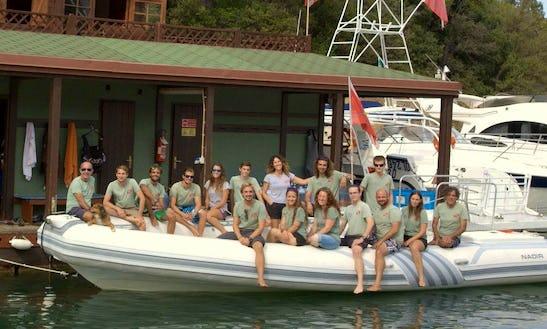'libeccio' Dive Boat Trips And Courses In Arzachena