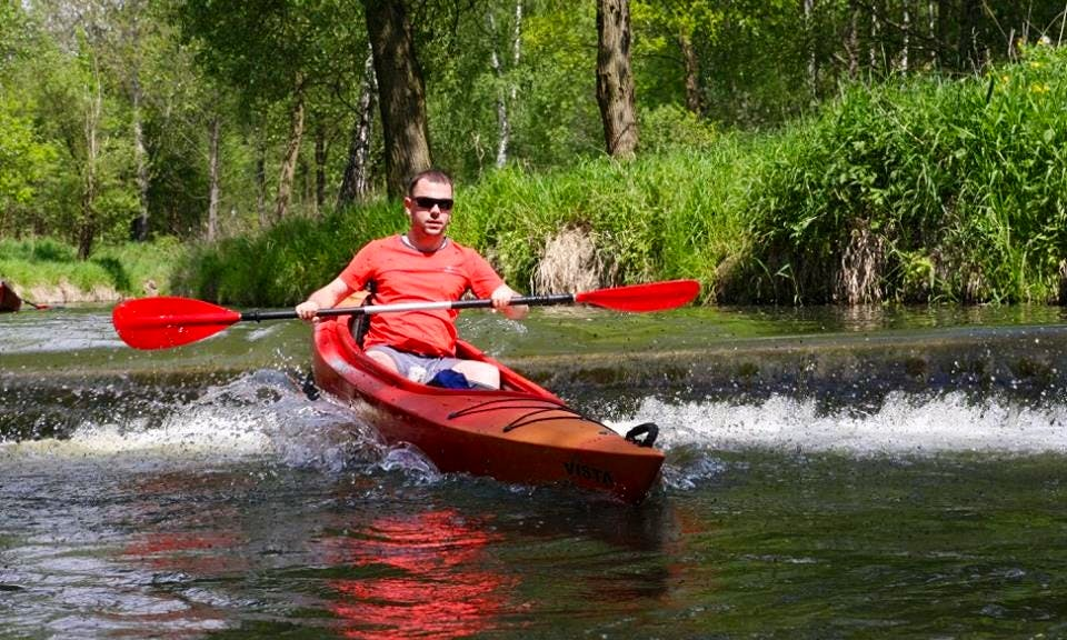 Kayak River Trips for Groups in Poland