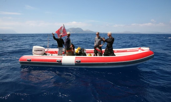 'cassini' Boat Diving Trips And Courses In Arzachena