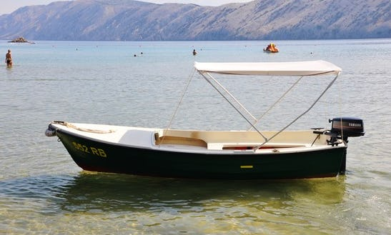 Dinghy Boat Rental In Lopar, Croatia