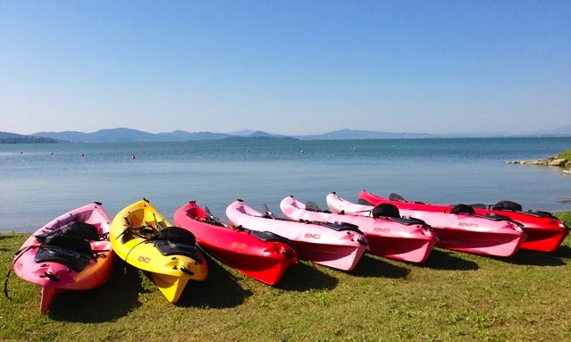 Double Kayaking Rental in Magione