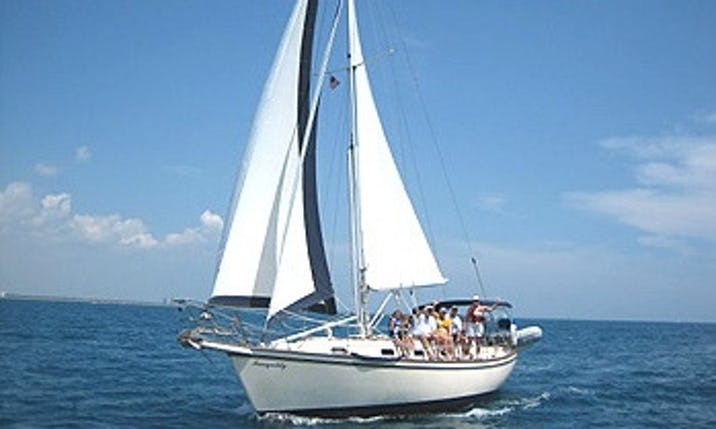 Charter The Island Packet 35 Aspri Mera Sailing Yacht In Rock Hall