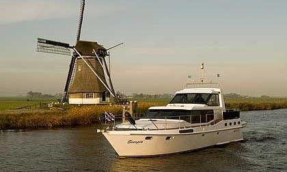 """Charter Vrijon Contessa """"Scorpio"""" in Heerenveen, Netherlands"""