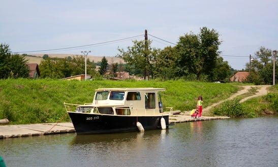 Houseboat Triton Rental In Slatiňany, Czech Republic