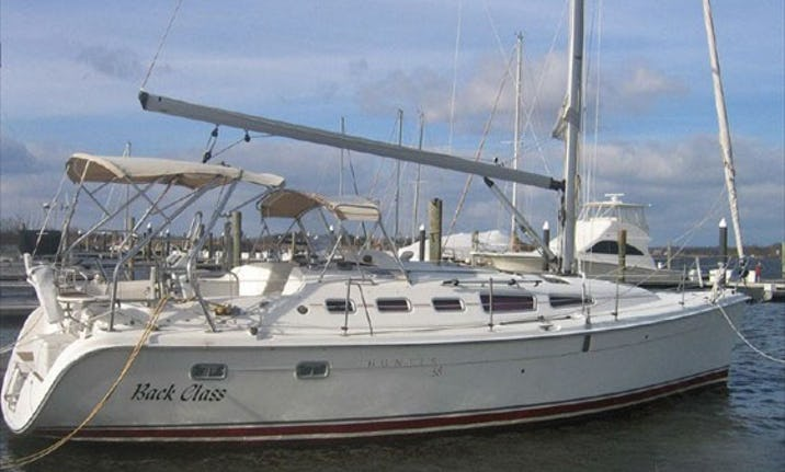 Charter The Hunter 38 Back Class Sailboat In Rock Hall Maryland