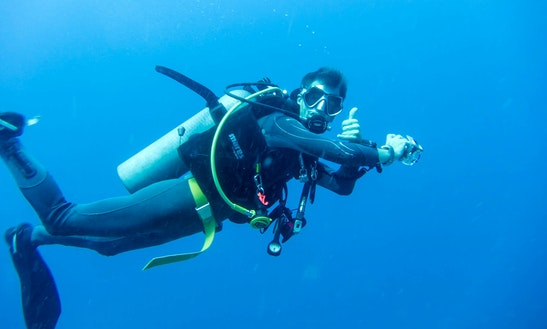 Diving Trips And Courses In Dorgali
