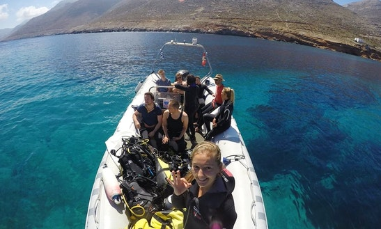 Daily Diving Trips In Naxos