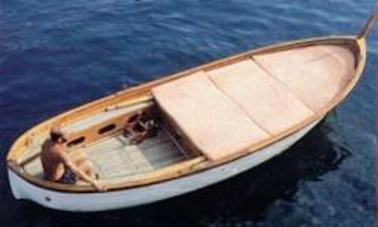 'gozzo' Power Boat Rental In Portofino
