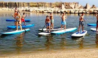 SUP Lesson and Excursion in El Cotillo, Spain