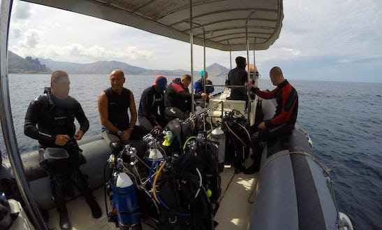 Scuba Diving Trips And Courses In San Vito Lo Capo, Italy