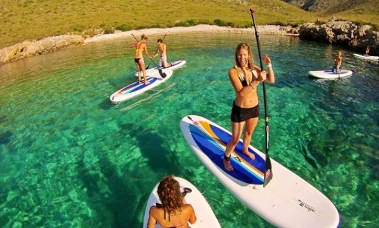 Stand Up Paddle Rental In Mal Pas-bon Aire