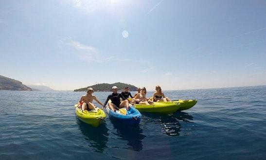 Single Kayak Hire & Tours In Dubrovnik