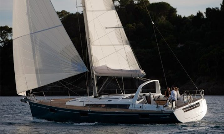 48ft Wine Down Beneteau Oceanis Sailing Yacht Charter In Rock Hall