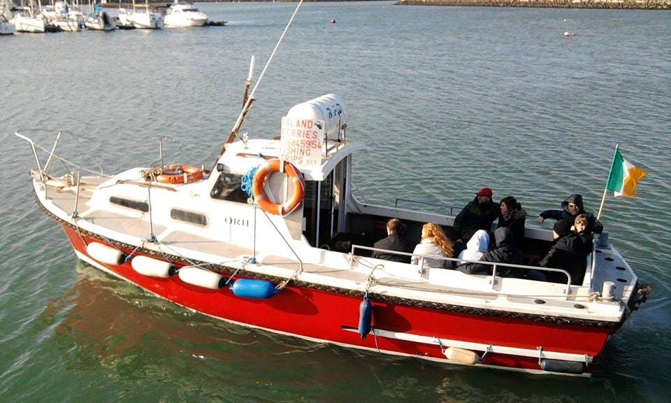 """Charter 31ft """"M.V Oriel"""" Trawler In Howth, Ireland"""