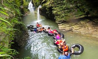 Body Rafting in Langkaplancar, Indonesia