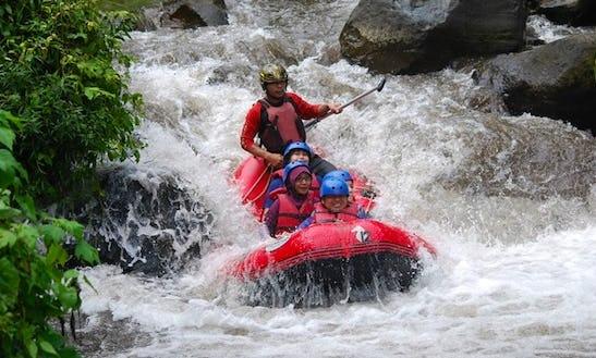 Sulphur Raft Trip In Pacet, Indonesia
