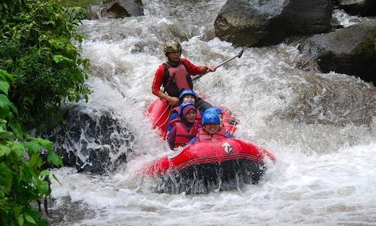 Sulphur Raft Trip In Pacet