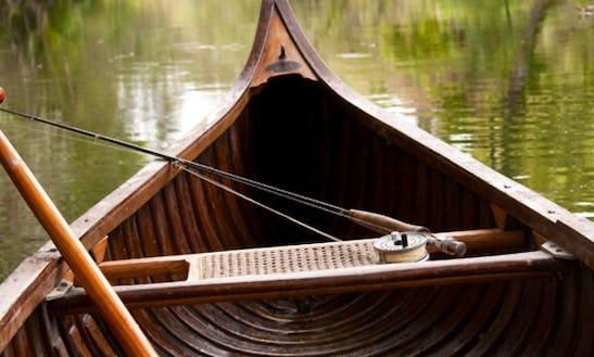 Canadian Canoe Fishing Trips In Celbridge, Ireland