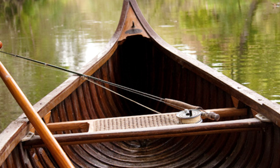 Canadian Canoe Fishing Trips In Celbridge, Ireland