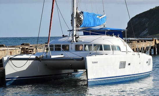 Charter 41' Cruising Catamaran In Fajardo, Puerto Rico