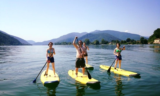 Paddleboard Rental & Lessons In Agno, Switzerland