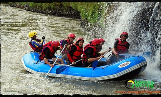 White Water Rafting In Kecamatan Sukoharjo, Indonesia