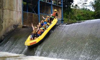 River Rafting in Caringin, Indonesia