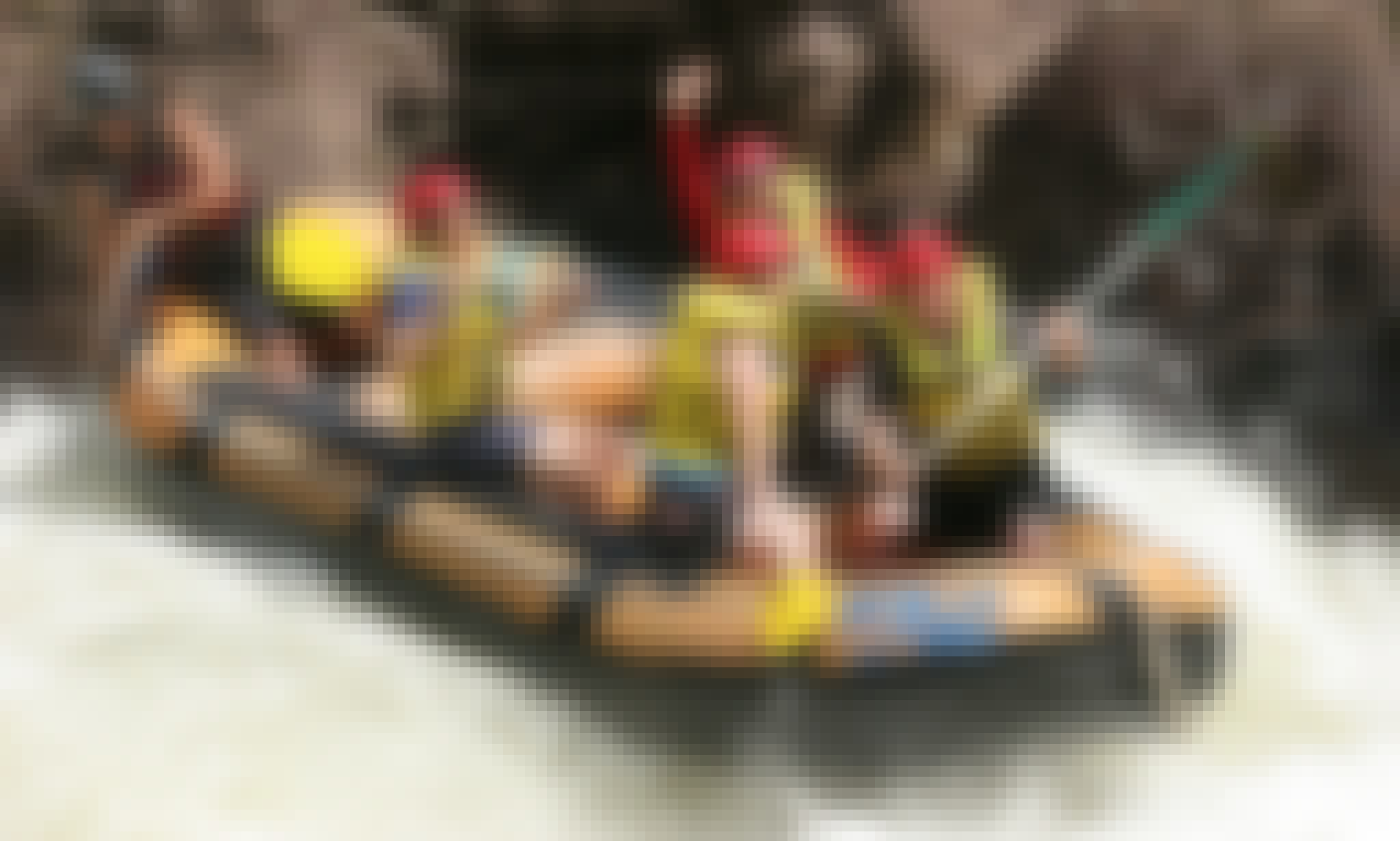 Rafting in Portsmith, Australia