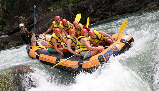 Rafting In Portsmith, Australia