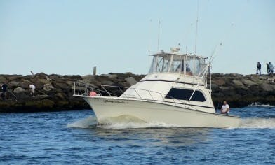 36' Sport Fisherman In Point Pleasant Beach, New Jersey