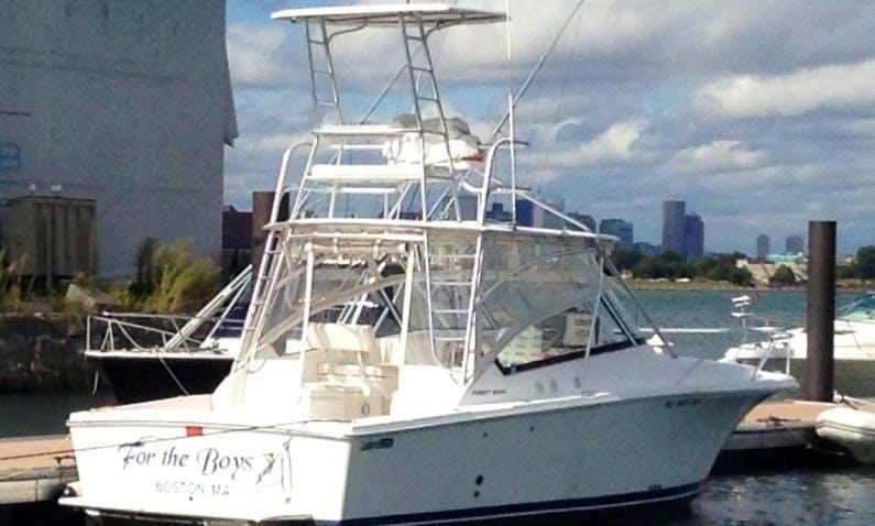 32ft Luhrs Inboard Propulsion Boat Rental in Onset, Massachusetts